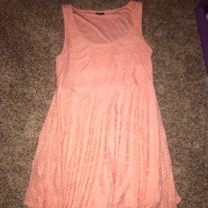 Torrid size 1 Peach Dress